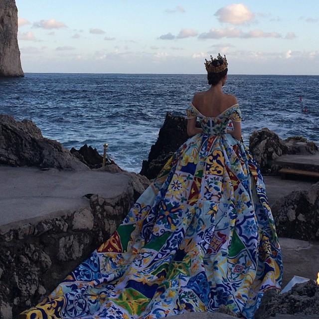 Dolce & Gabbana Alta Moda: кутюрная феерия на Капри (фото 4)