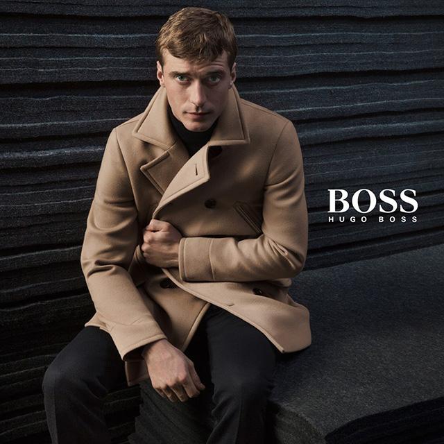 Новая рекламная кампания Джейсона Ву для Boss