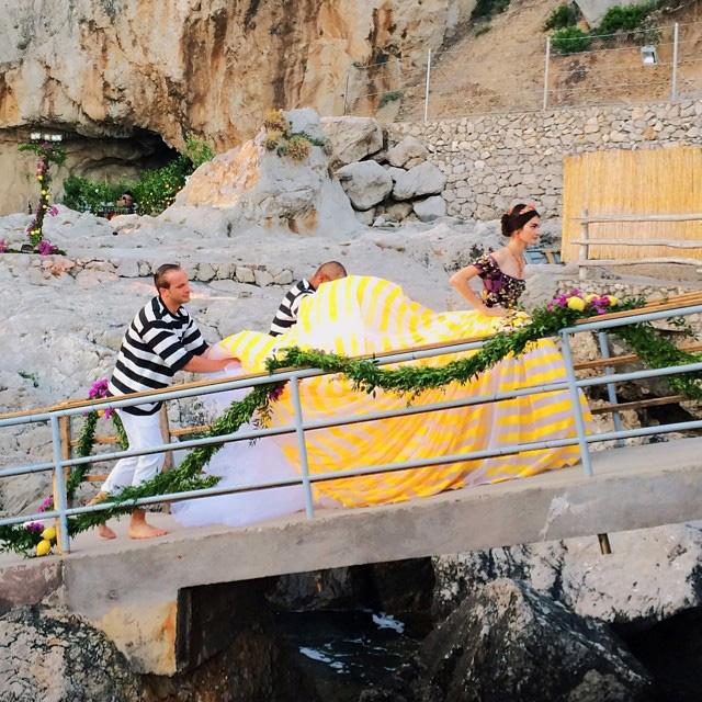 Dolce & Gabbana Alta Moda: кутюрная феерия на Капри (фото 1)