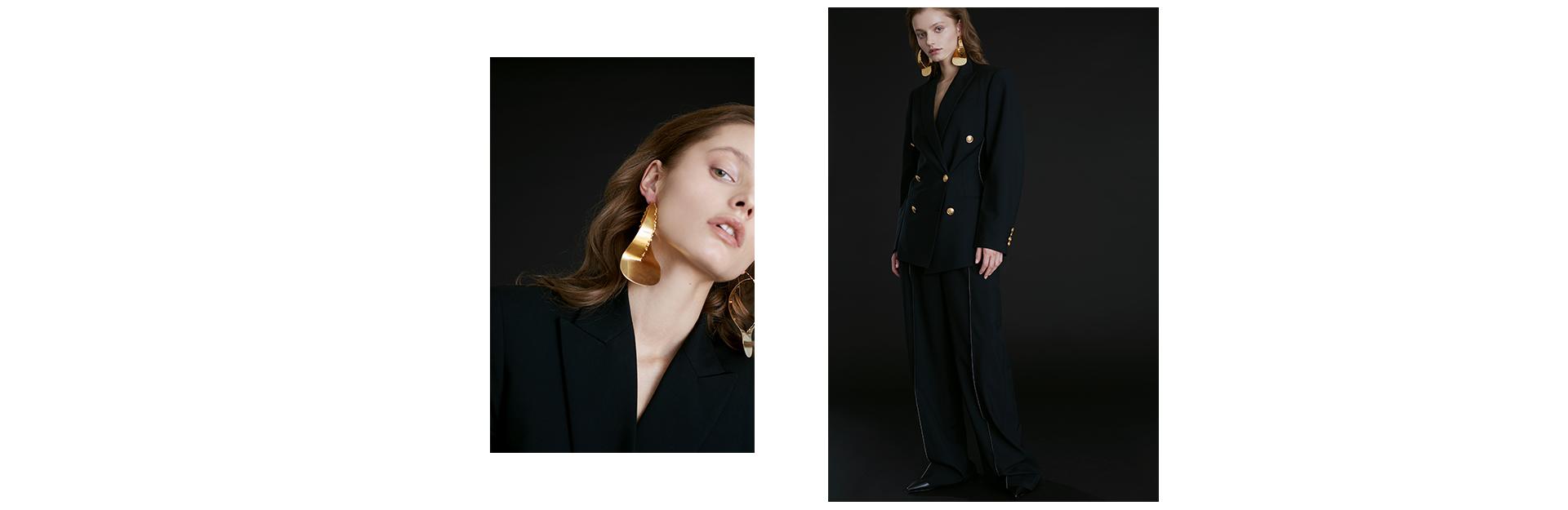 С чем носить пиджак в стиле power dressing (фото 1)