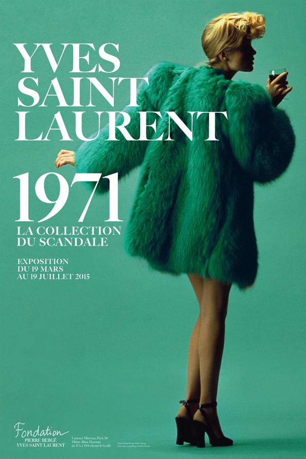 Ив Сен-Лоран: как выглядят эскизы к коллекции-прорыву 1971 года (фото 1)