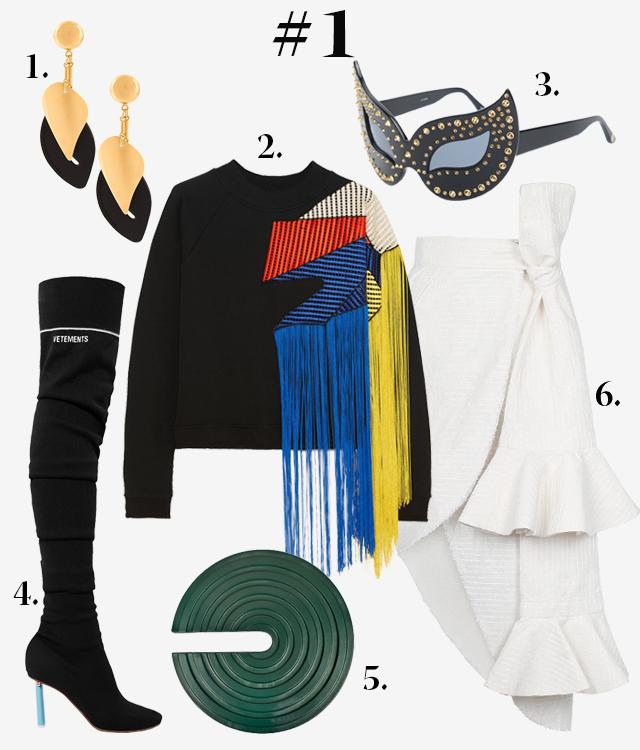 Одна вещь — три образа: юбка J.Kim (фото 1)