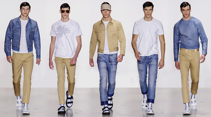 90fa2f4a2f4 Неделя мужской моды в Милане  Calvin Klein