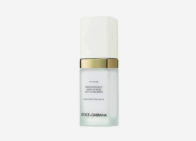 The Primer Sheer Radiance Make Up Base  SPF30 от Dolce&Gabbana, 5099 руб.