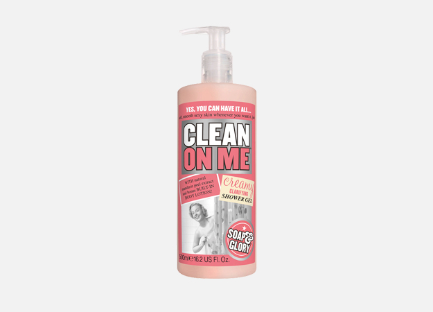 Clean On Me Creamy Clarifying Shower Gel от Soap&Glory, 545 руб.