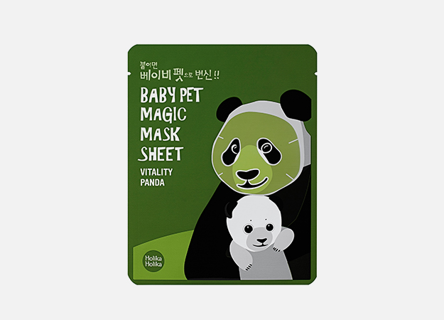 Baby Pet Magic Mask Sheet Vitality Panda от Holika Holika, 290 руб.