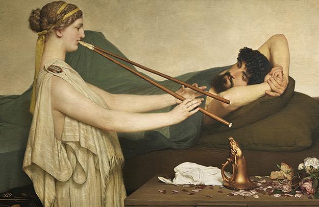 Лоуренс Альма-Тадема, «Полуденный отдых», 1868