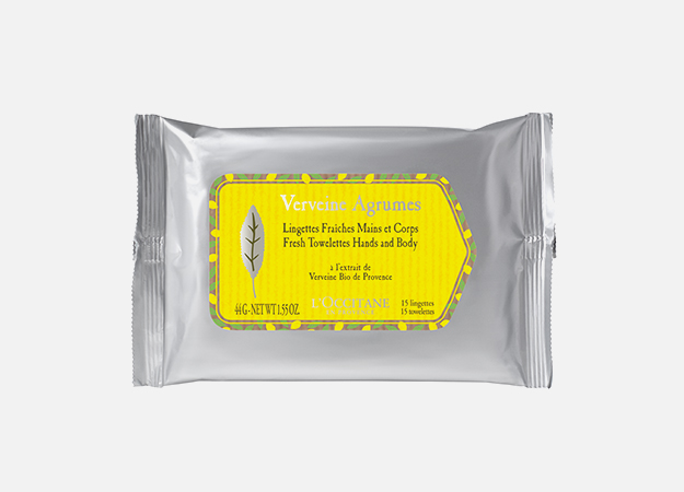 Fresh Towelettes Hands and Body от L'Occitane, 650 руб.