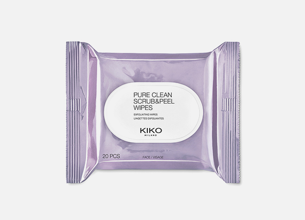 Pure Clean Scrub & Peel Wipes от Kiko Milano, 540 руб.