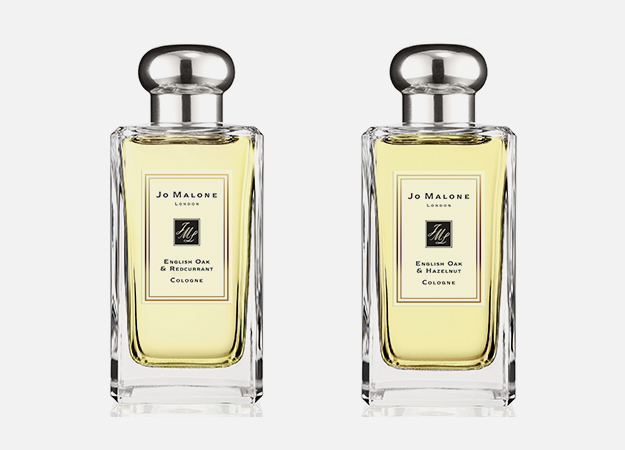 English Oak & Redcurrant от Jo Malone London, 9 400 руб., English Oak & Hazelnut от Jo Malone London, 9 400 руб.