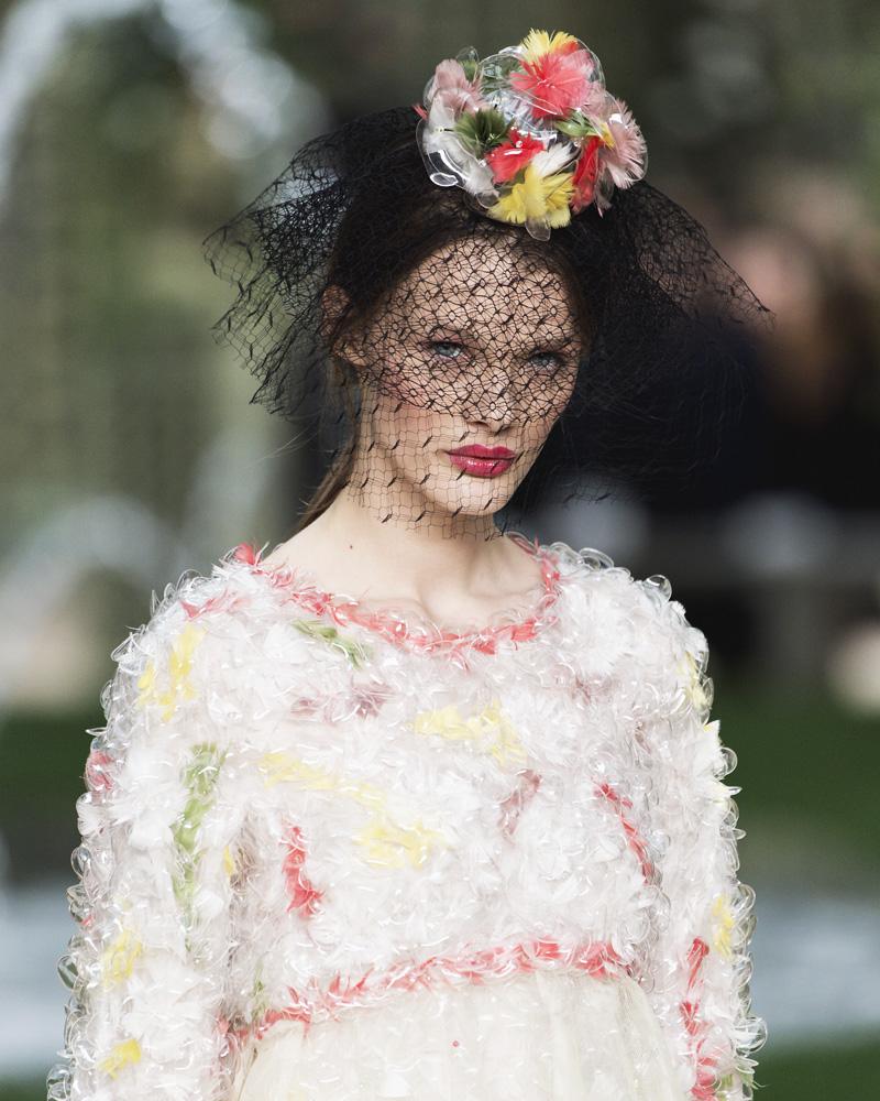 Прически с Недели высокой моды в Париже (фото 5)