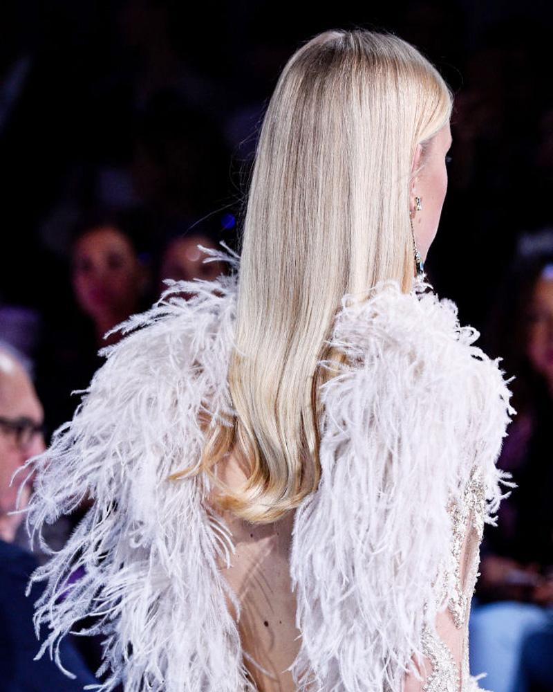 Прически с Недели высокой моды в Париже (фото 7)