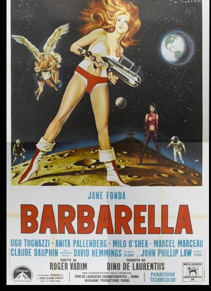 Барбарелла — первая женщина в космосе в Paco Rabanne (фото 1)