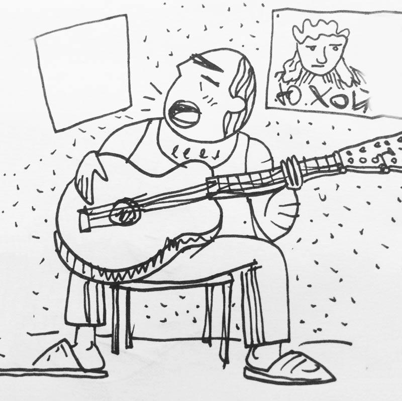 Группа «Кружок» рисует для Buro 24/7 (фото 13)