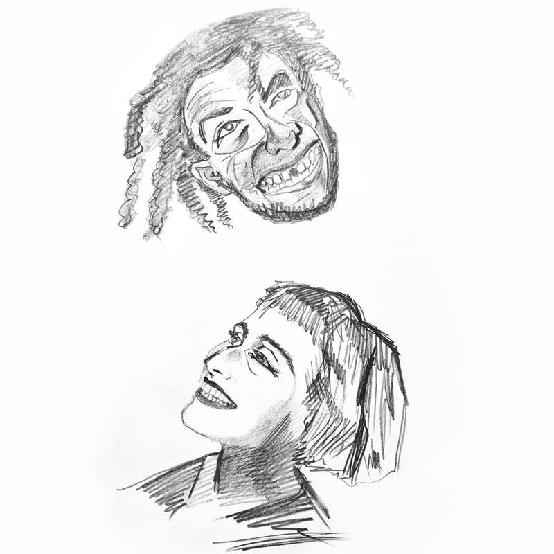 Группа «Кружок» рисует для Buro 24/7 (фото 14)