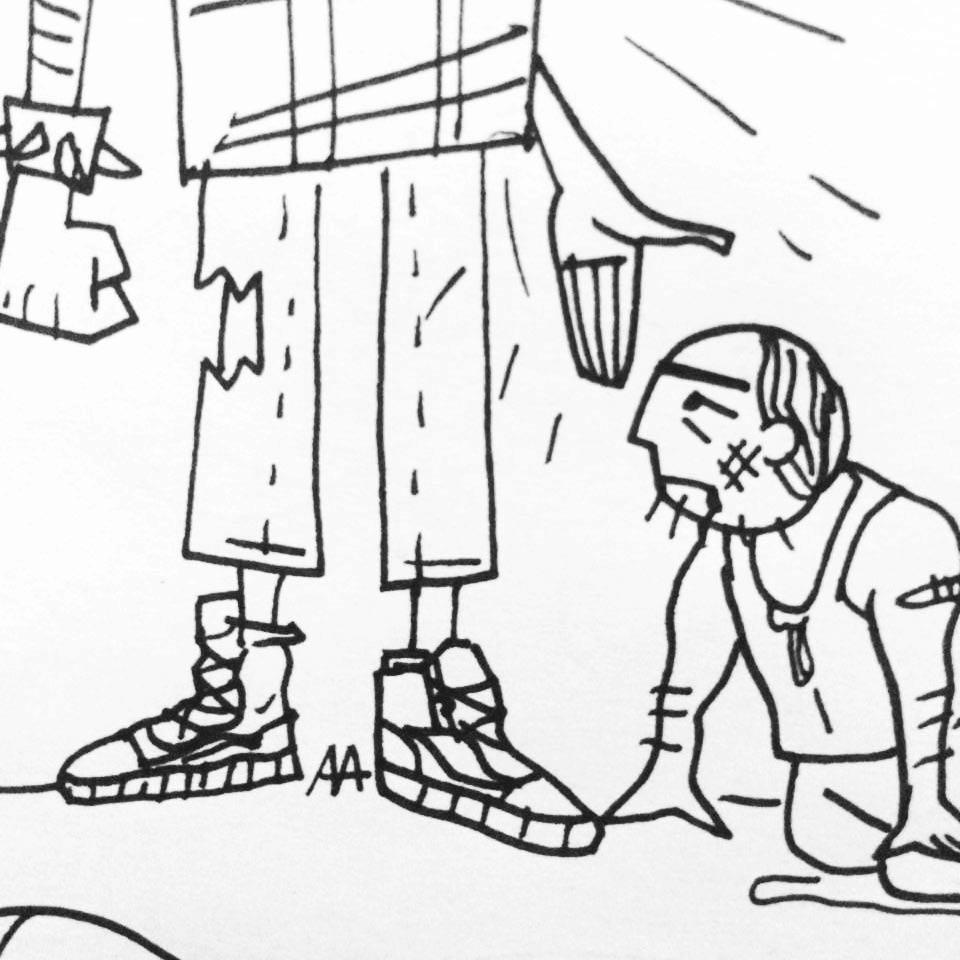 Группа «Кружок» рисует для Buro 24/7 (фото 24)