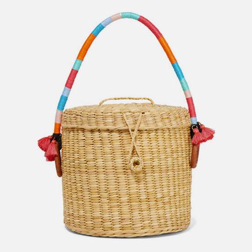 В вишлист: соломенные сумки (фото 9)