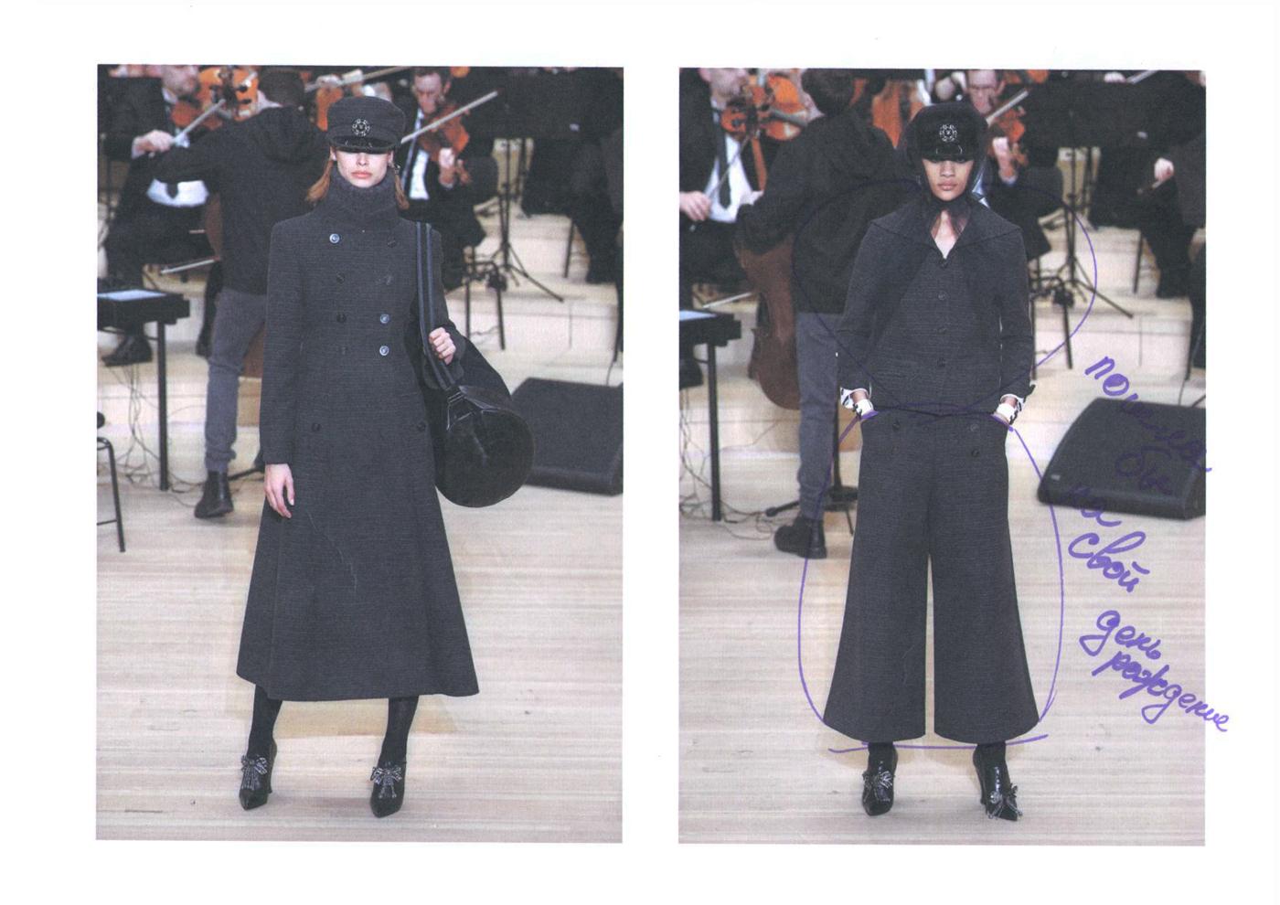 Гости показа Chanel выбирают себе вещи из коллекции Métiers d'Аrt Paris — Hamburg 2017/18 (фото 12)