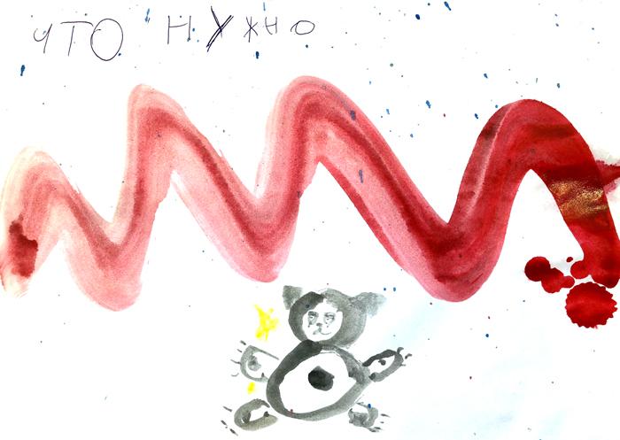 Олег Кулик рисует для Buro 24/7 (фото 5)