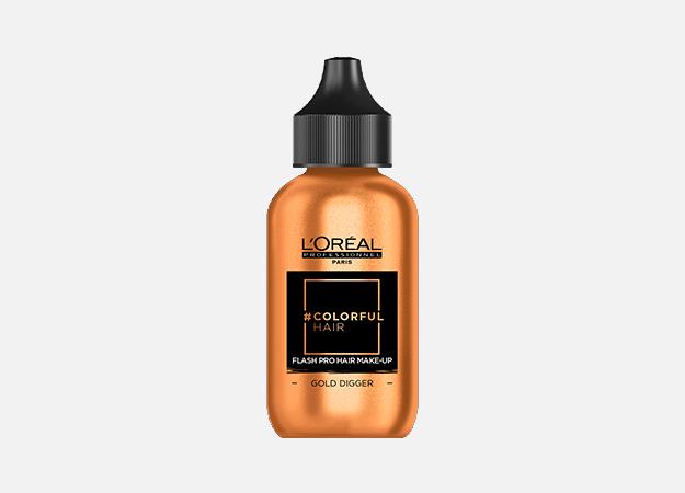 Жидкие металлик-тени, средства для макияжа волос и другие новинки недели (фото 7)