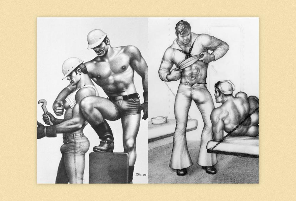Гомосексуальные сцены в искусстве