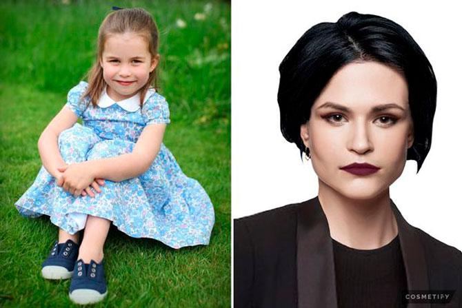 Британцы показали, как будут выглядеть дети Кейт Миддлтон и Меган Маркл через 20 лет (фото 3)