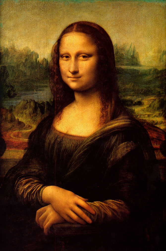 Ученые обнаружили скрытый набросок на холсте с «Джокондой» Леонардо да Винчи (фото 1)