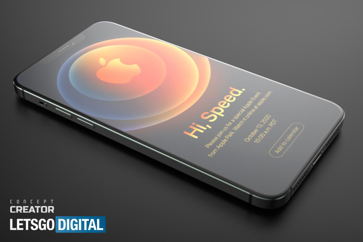 Появились новые трехмерные рендеры iPhone 12 Pro Max (фото 1)