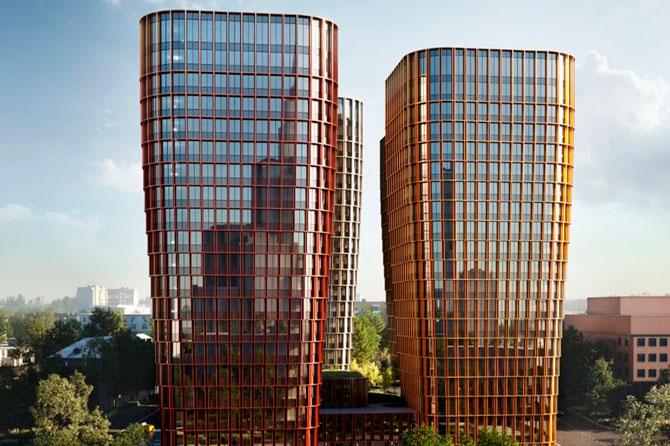 Архитекторы показали новый проект здания на месте киноцентра «Соловей» (фото 1)