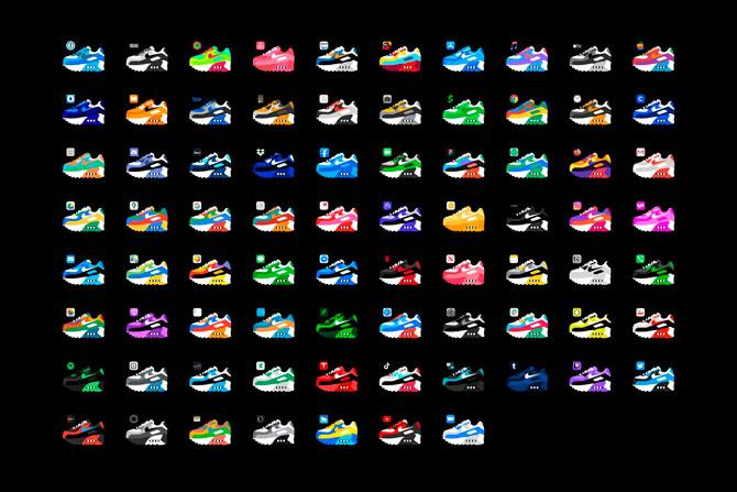 Иконки приложений iPhone теперь можно заменить на кроссовки (фото 2)