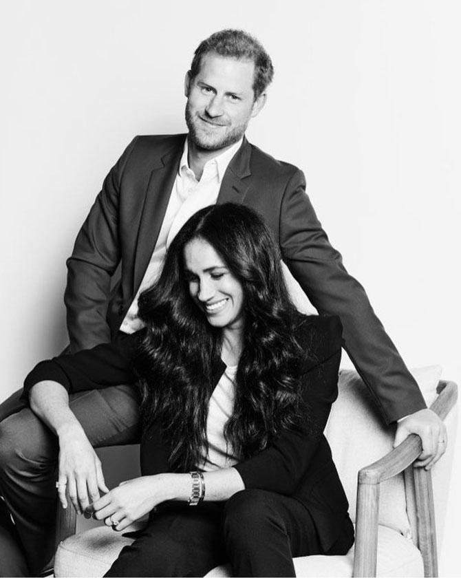 Меган Маркл и принц Гарри показали первые после мегзита официальные фотографии (фото 1)