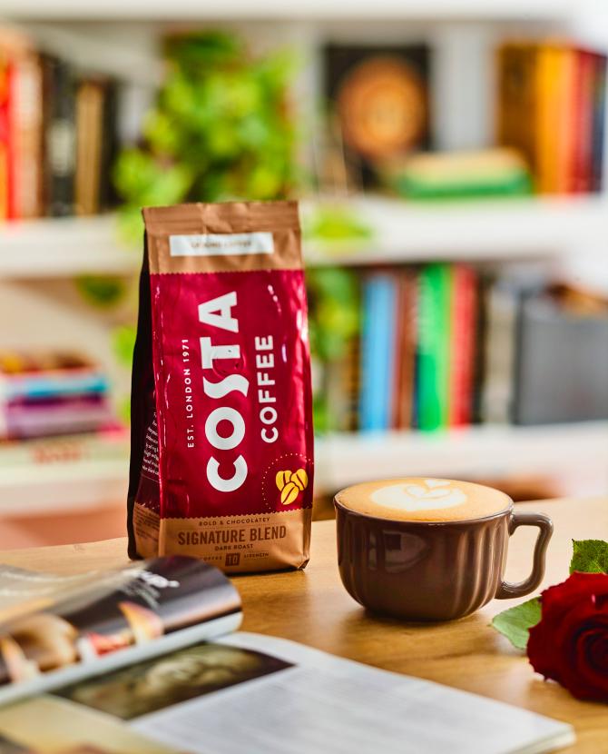Costa Coffee выпустил четыре бленда кофе для домашнего приготовления (фото 1)