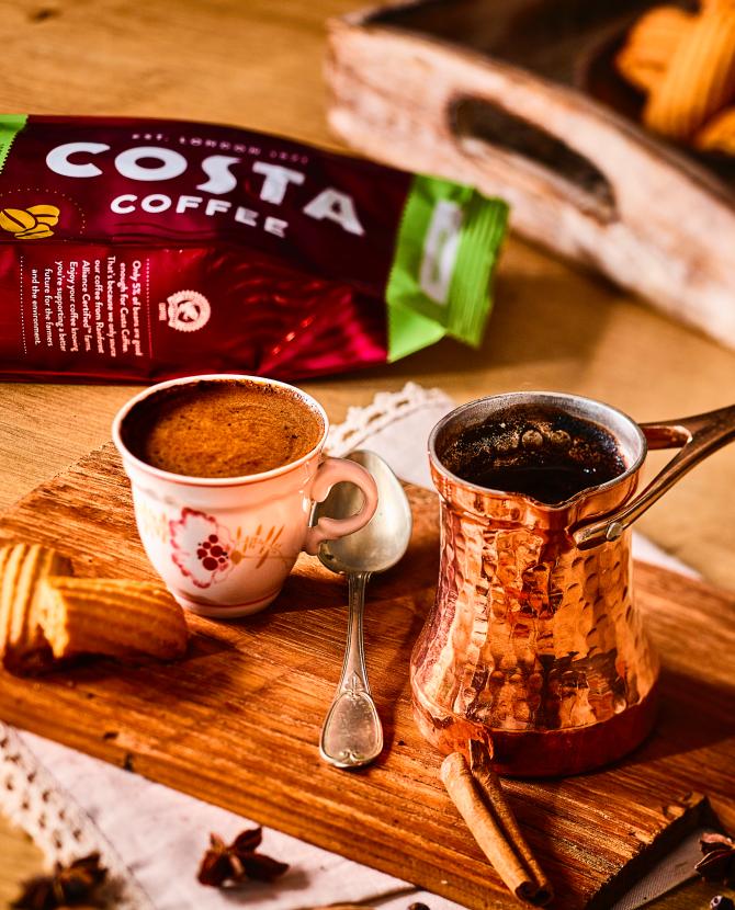 Costa Coffee выпустил четыре бленда кофе для домашнего приготовления (фото 2)