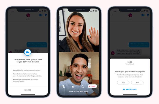 Tinder добавил видеочаты в приложение (фото 1)