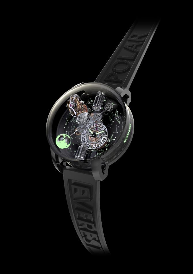 Jacob & Co выпустил часы, вдохновленные красотой и хрупкостью Земли (фото 1)