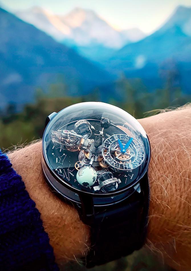 Jacob & Co выпустил часы, вдохновленные красотой и хрупкостью Земли (фото 2)