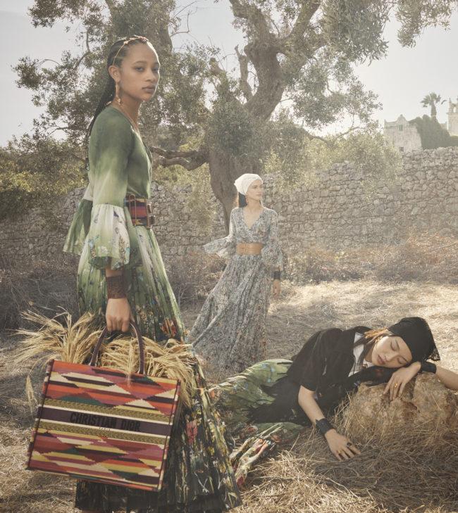 Dior выпустил кампанию новой круизной коллекции — ее снимали в Апулии (фото 2)
