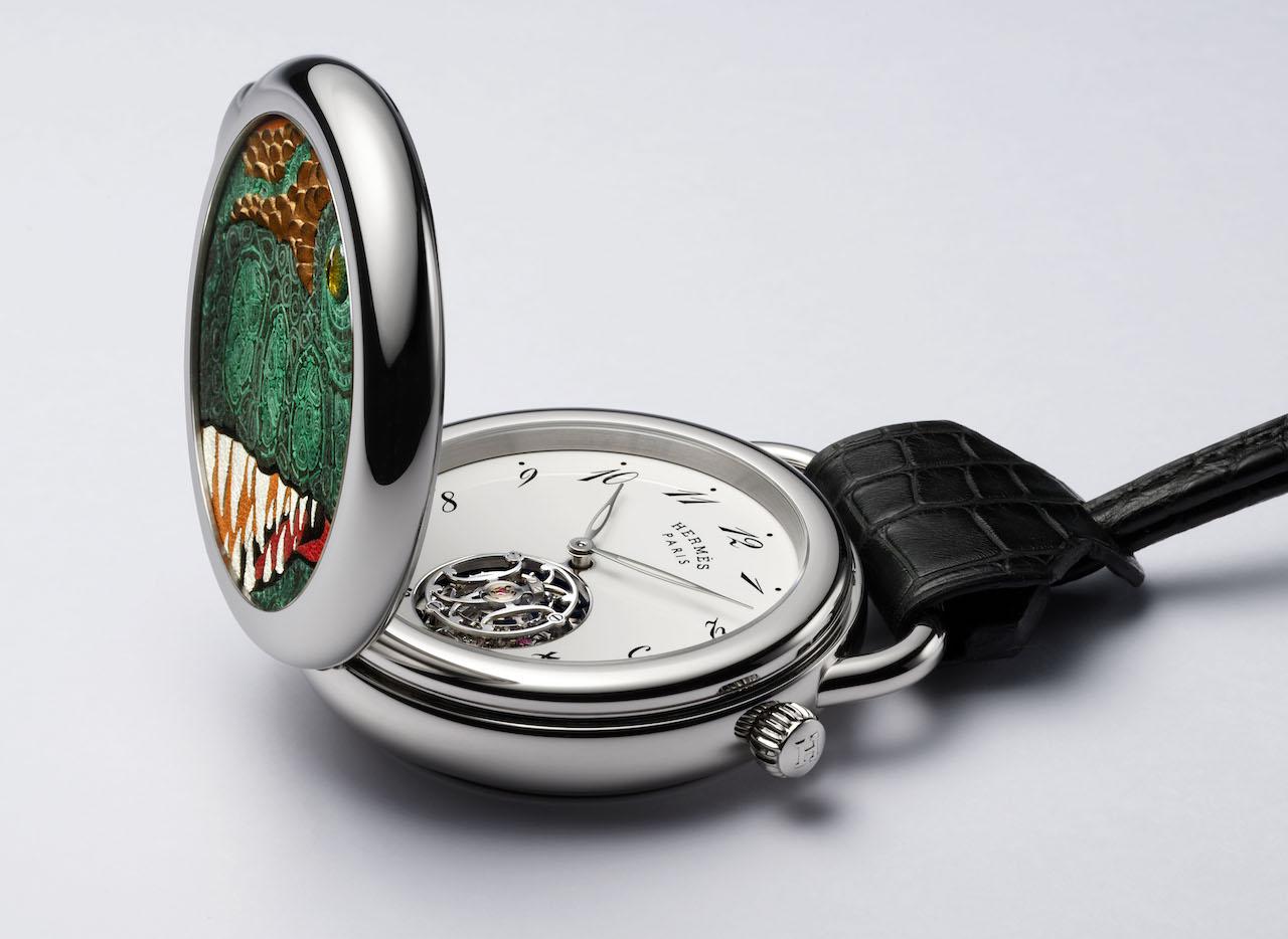 Hermès выпустил карманные часы с изображением тираннозавра (фото 2)