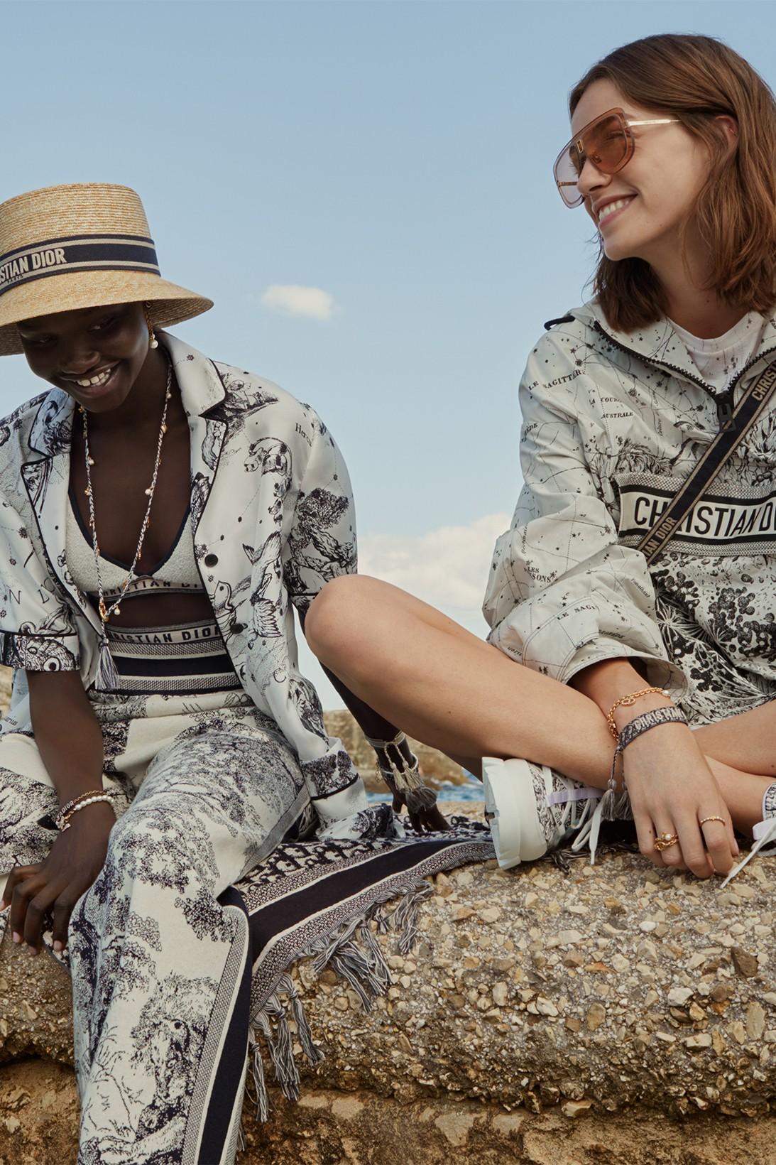 Dior сделал коллекцию домашней одежды вместе с художником Пьетро Руффо (фото 2)