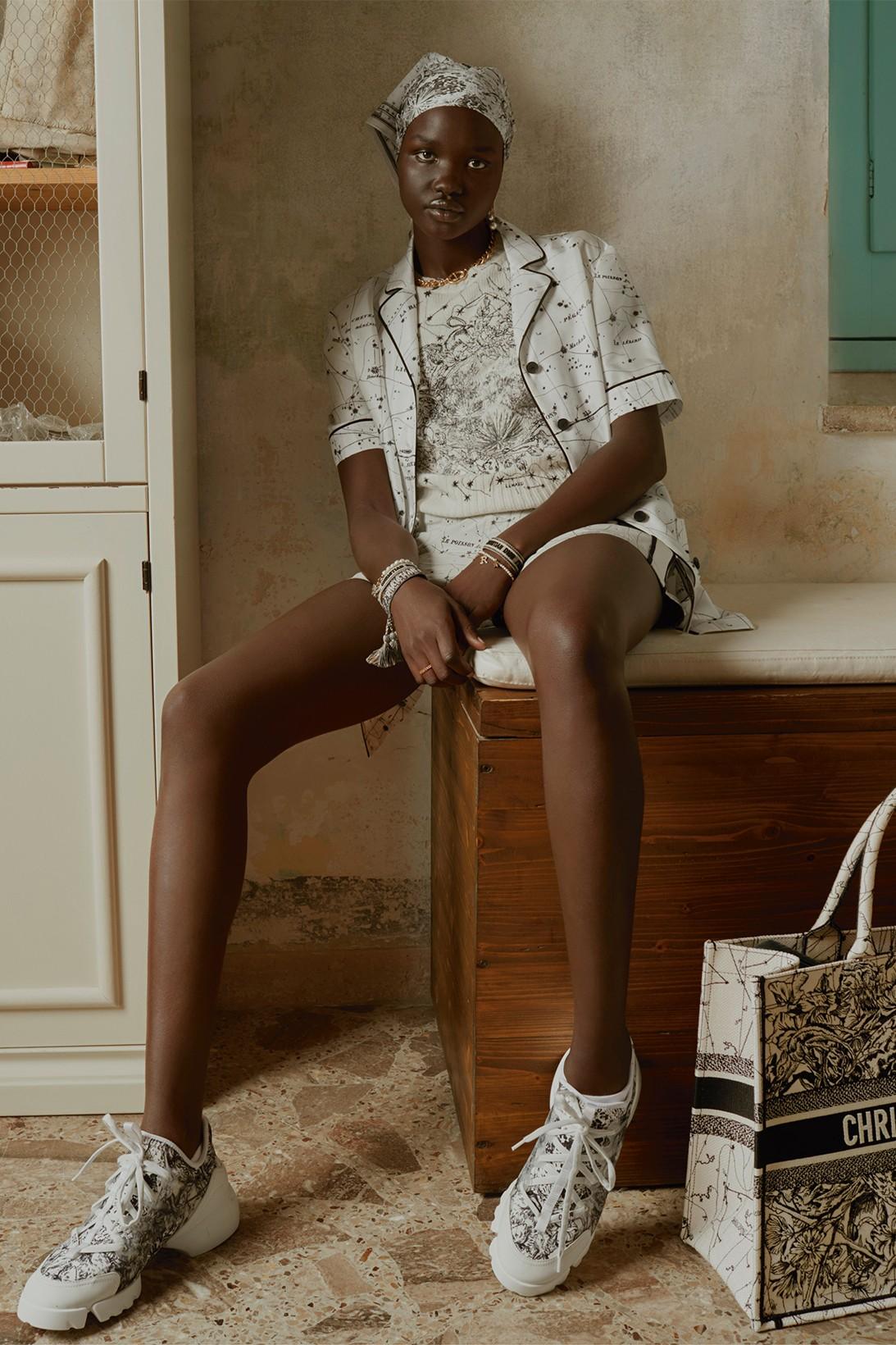 Dior сделал коллекцию домашней одежды вместе с художником Пьетро Руффо (фото 3)