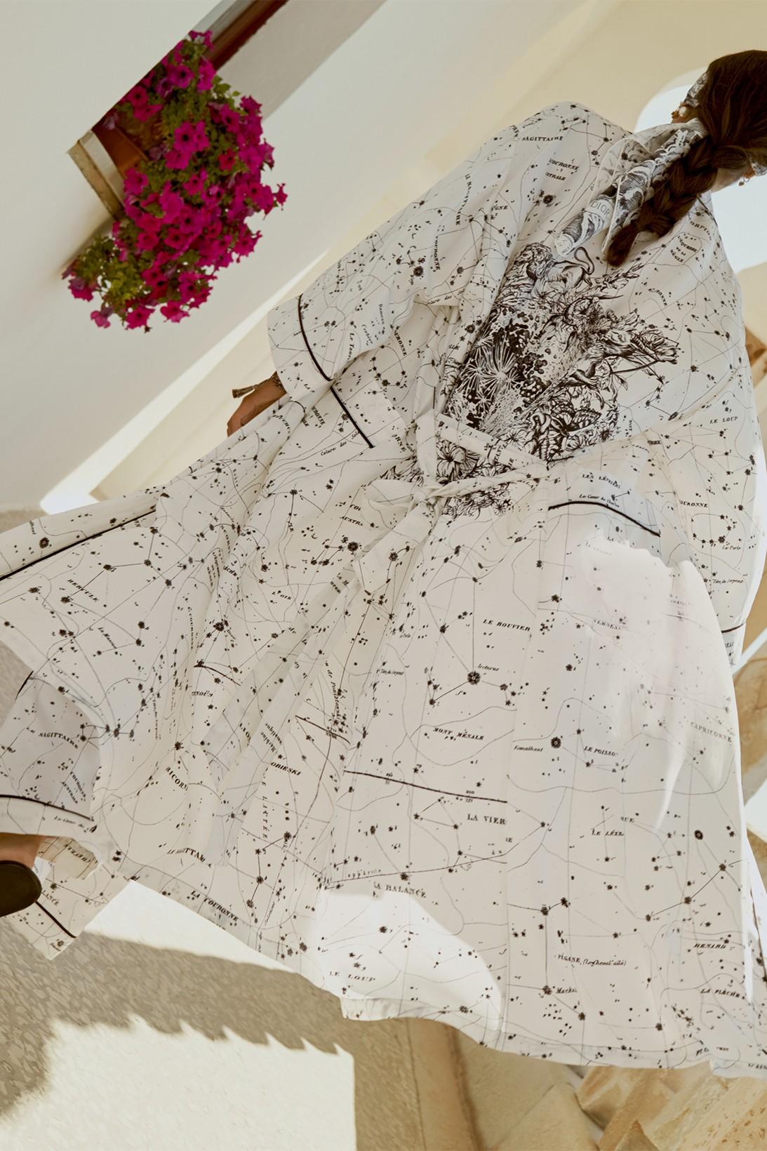 Dior сделал коллекцию домашней одежды вместе с художником Пьетро Руффо (фото 6)
