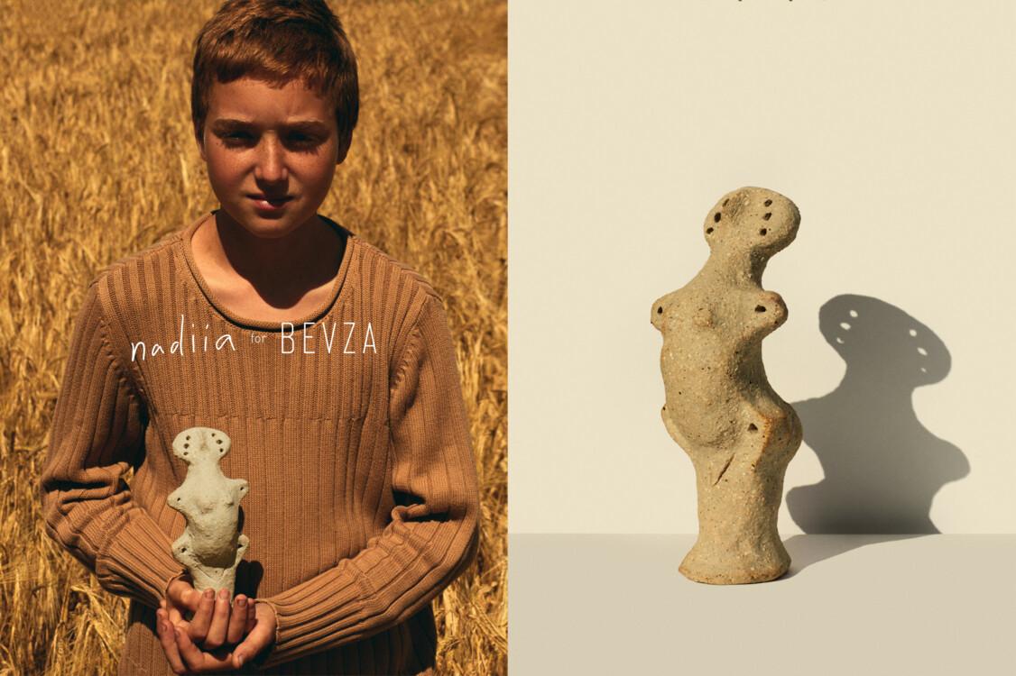 Бренд Bevza выпустил коллекцию, посвященную трипольской культуре (фото 1)
