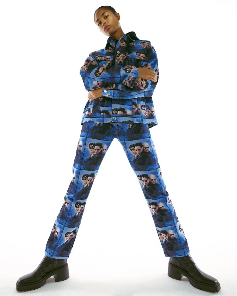 Pull & Bear выпустил рубашки и куртки с кадрами из «Матрицы» (фото 1)