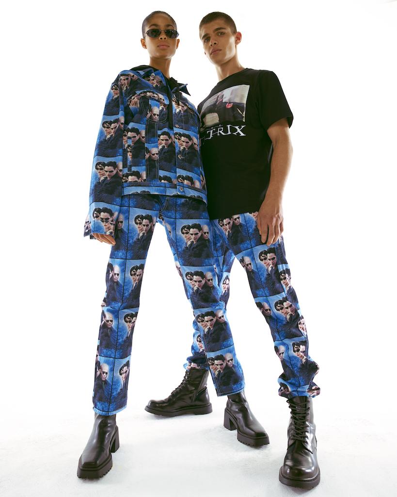 Pull & Bear выпустил рубашки и куртки с кадрами из «Матрицы» (фото 2)