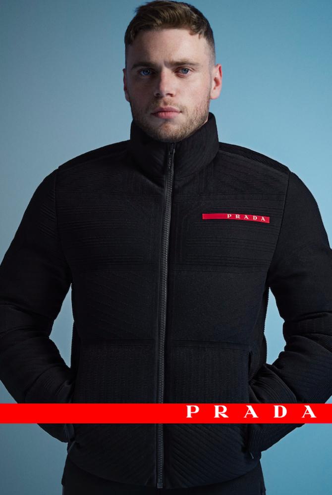 В новой кампании Prada Linea Rossa снялся призер Олимпийских игр Гас Кенуорти (фото 1)