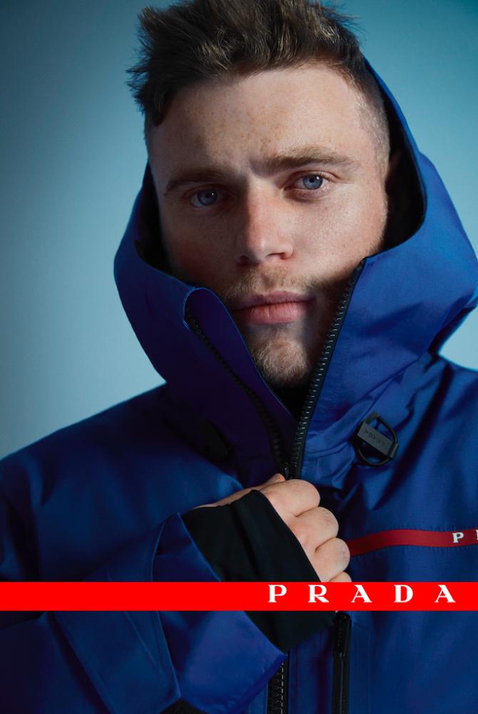 В новой кампании Prada Linea Rossa снялся призер Олимпийских игр Гас Кенуорти (фото 2)