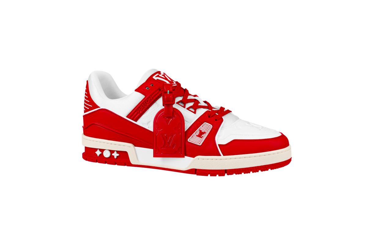 Louis Vuitton выпустил кроссовки в поддержку борьбы со СПИДом (фото 1)