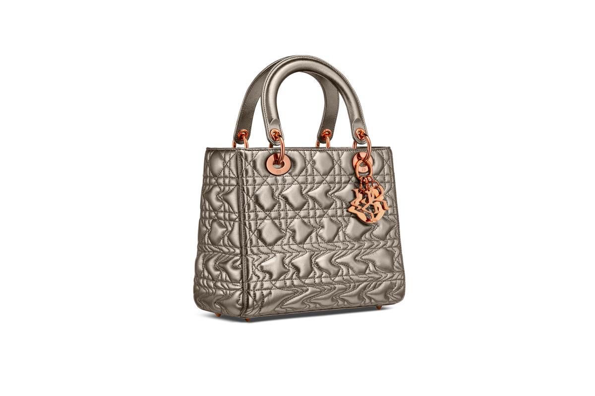 В Москве появились новые арт-сумки Lady Dior (фото 18)
