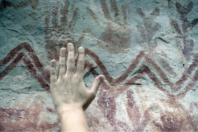 В Колумбии обнаружили наскальные росписи, сравнимые с фресками Cикстинской капеллы (фото 2)