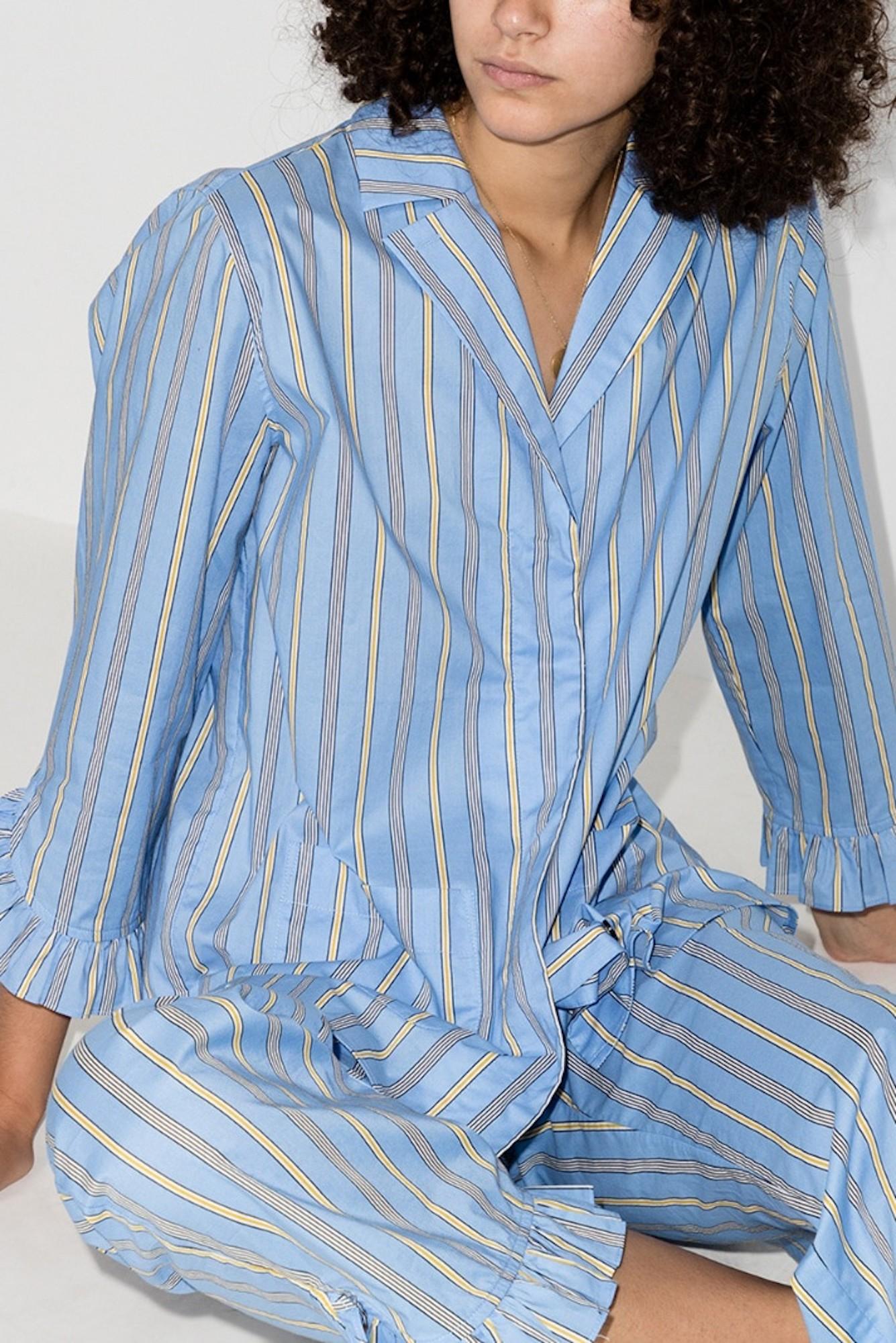 Ganni выпустил капсульную коллекцию пижам (фото 1)